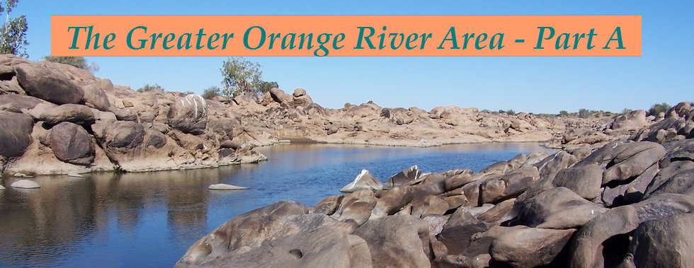 The Greater Orange River Area, Northern Cape, South Africa