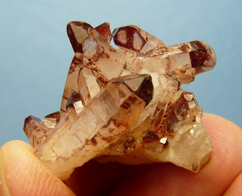 Phantom quartz crystal group